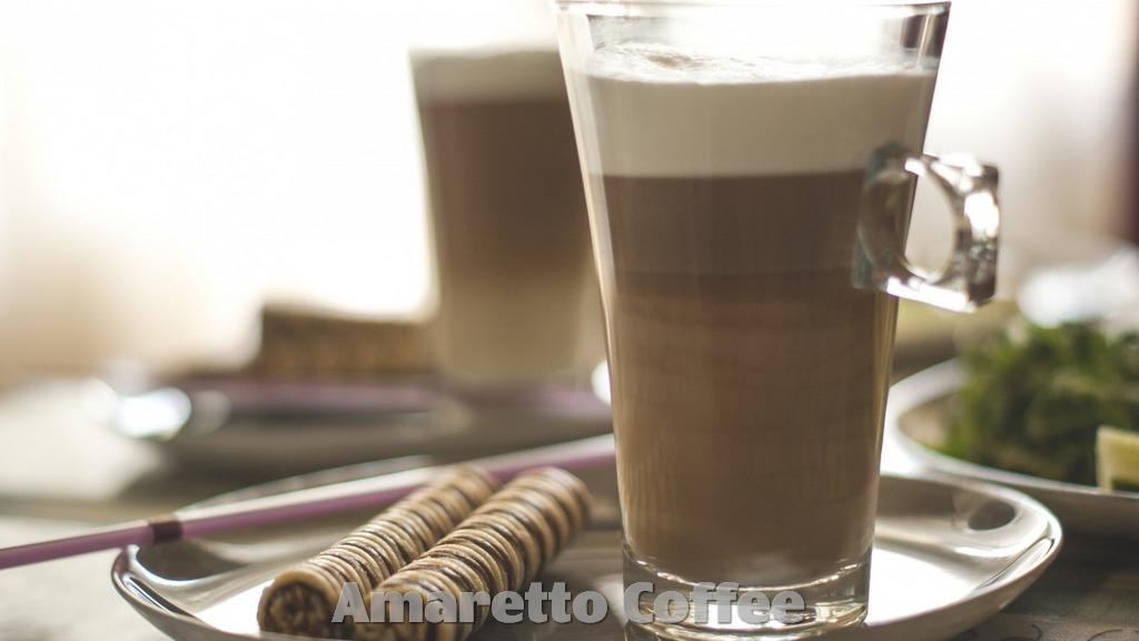 Recipe How to make Amaretto Coffee