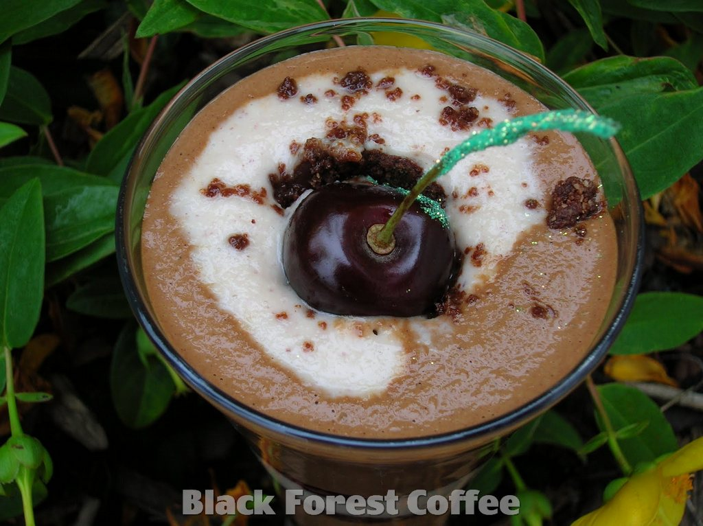 Recipe How to make Black Forest Coffee