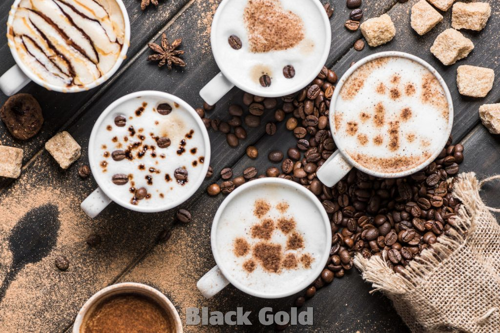 Recipe How to make Black Gold Coffee