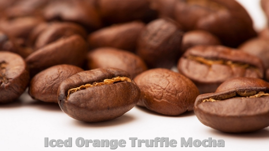 Recipe How to make Iced Orange Truffle Mocha