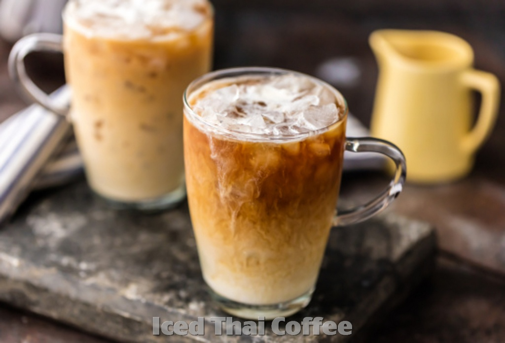 Recipe How to make Iced Thai Coffee