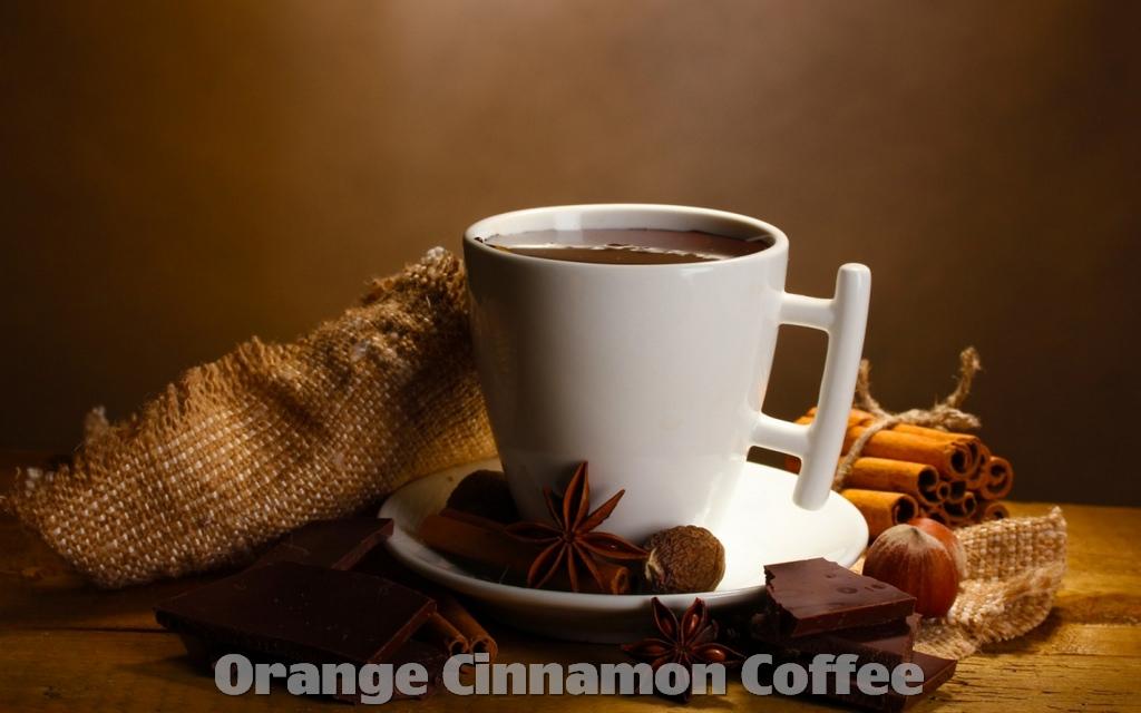 Recipe How to make Orange Cinnamon Coffee
