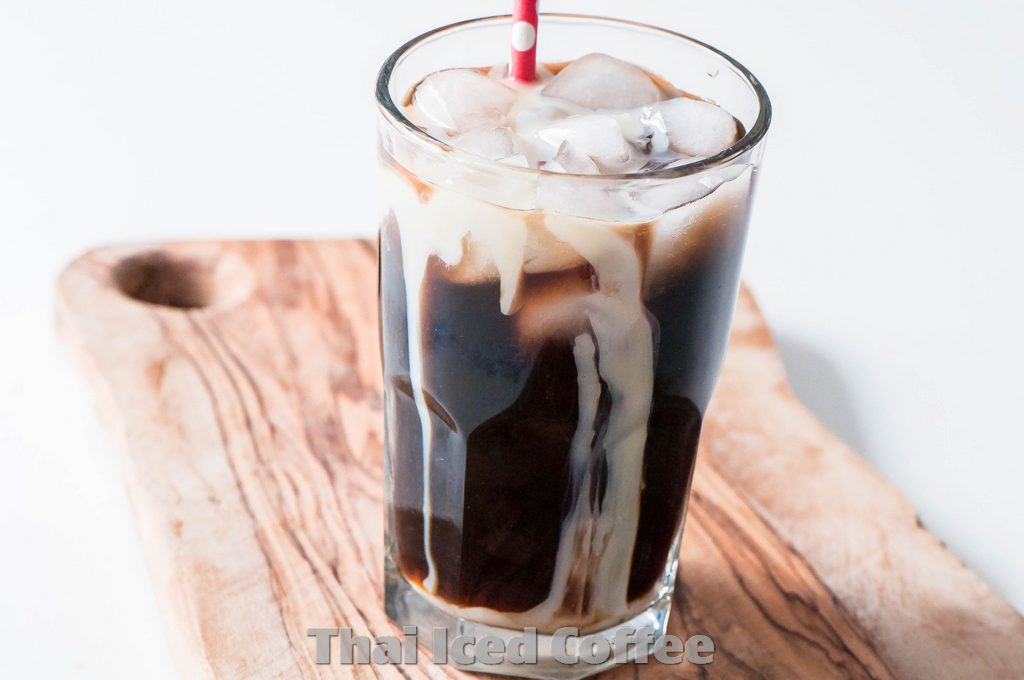 Recipe How to make Thai Iced Coffee